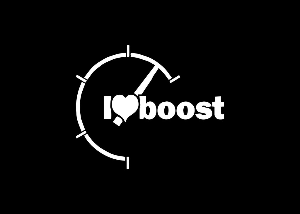 I Heart Boost JDM Decal Sticker Graphic