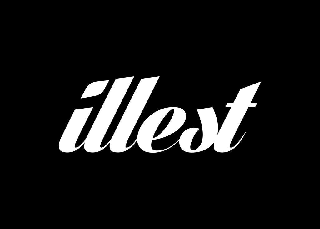 Illest Cursive JDM Decal Sticker Graphic