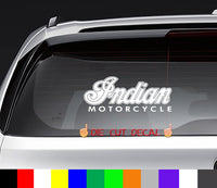Indian Motorcycles Decal Sticker Graphic