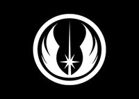 Jedi Order Star Wars Car Decal Sticker