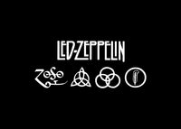 Led Zeppelin Zoso Decal Sticker