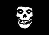 Misfits Fiend Skull Decal Sticker