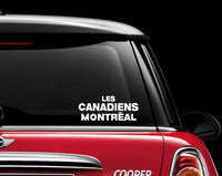 Montreal Canadians Decal Sticker NHL Hockey