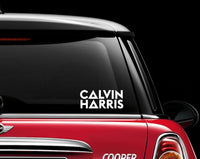 Calvin Harris Decal Sticker Graphic