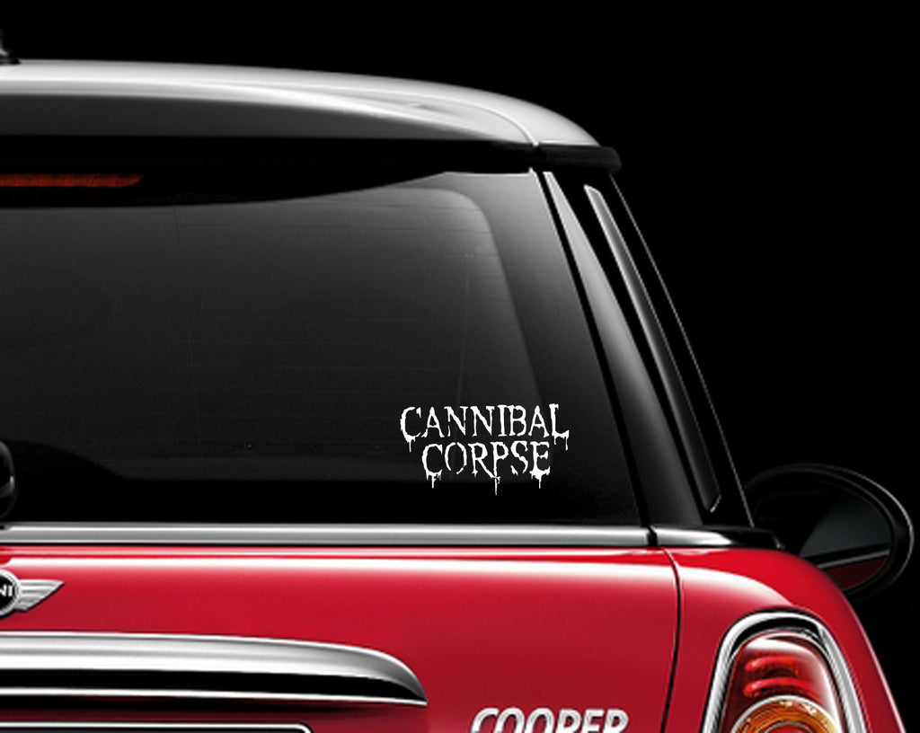 Cannibal Corpse Decal Sticker Metal Death Metal