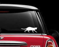 Cat Pet Animal Kitty Vinyl Decal Sticker