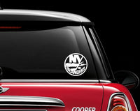 New York Islanders Car Decal Sticker NHL Hockey