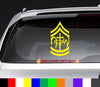 Not of This World Army NOTW Decal Sticker