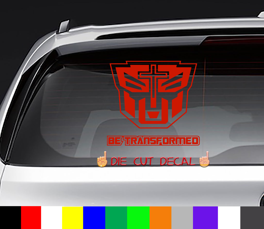 Not of This World Be Transformed NOTW Decal Sticker
