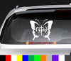Not of This World Thick Butterfly NOTW Decal Sticker
