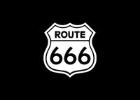 Route 666 JDM Decal Sticker