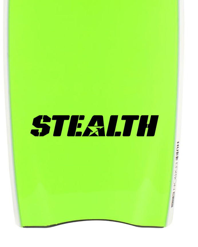Stealth Army Bodyboards Decal Sticker Graphic