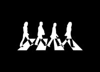 The Beatles Abbey Road Decal Sticker