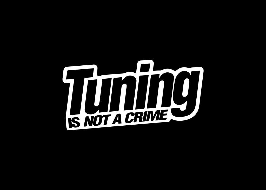 Tuning Is Not A Crime JDM Decal Sticker