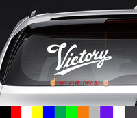 Victory Motorcycles Decal Sticker Graphic