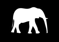 Elephant Animal Exotic Pet Decal Sticker Graphic - The Decal God