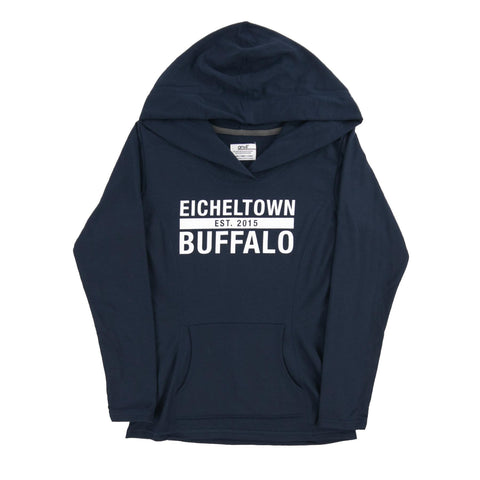 Eichel Town Navy Dual Blend Fleece Hoodie (Womens)