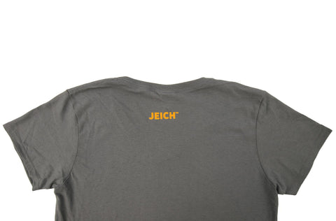 Eichel Heart Gray V-Neck Tee Shirt (Women)
