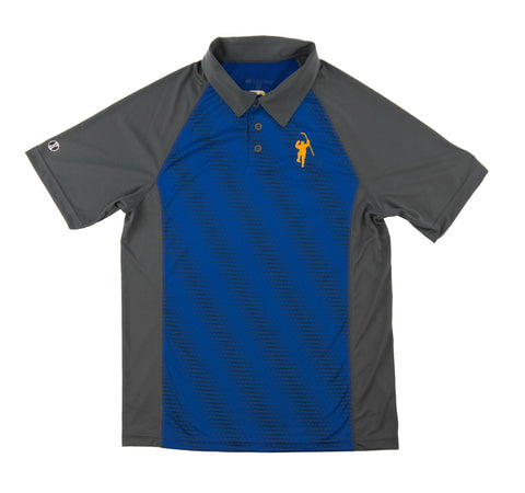 Gray & Royal Torpedo Performance Polo
