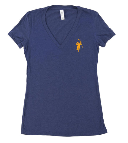Navy Tri-blend Tee Shirt (Women)