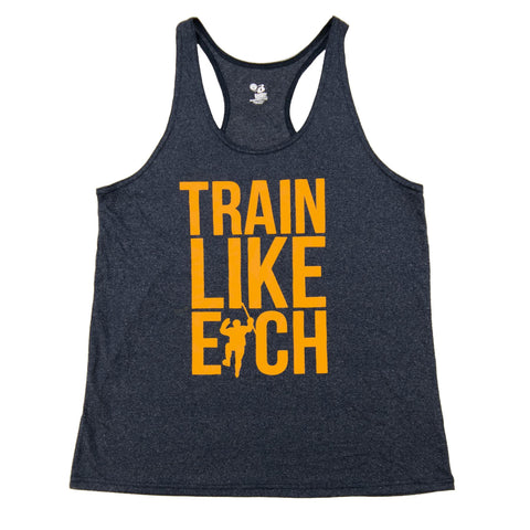 Navy Racer Train Like Eich Performance Tank (Women)