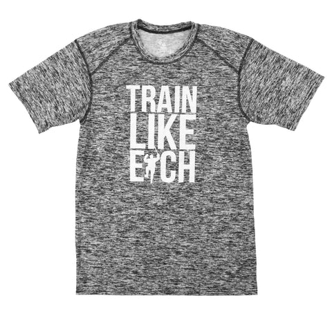 Black Static Train Like Eich Performance Tee Shirt