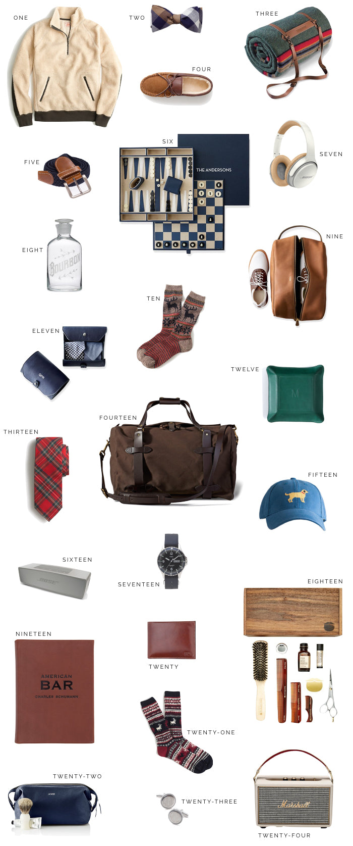 Holiday Gift Guide For Him Boyfriend Husband Brother