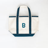 Hand Painted Mini Canvas Tote Beach Bag