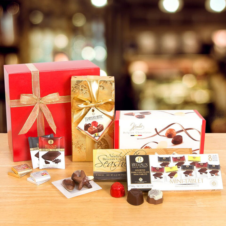 24-Flavor Belgian Chocolate Gift Box