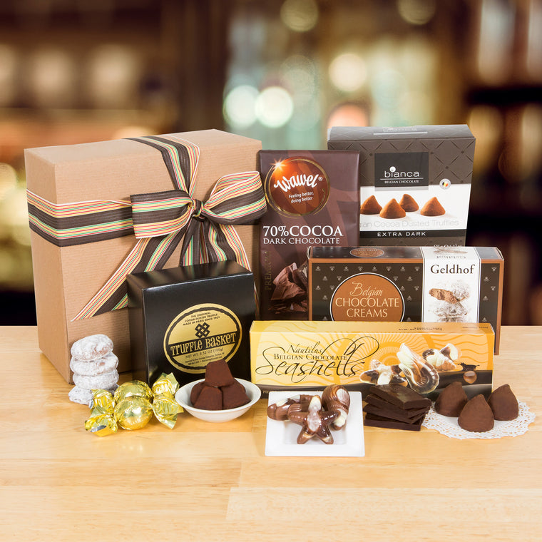 Tour of Europe Chocolate Sampler