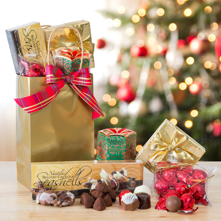 Chocolate Good Cheer Gift Tote