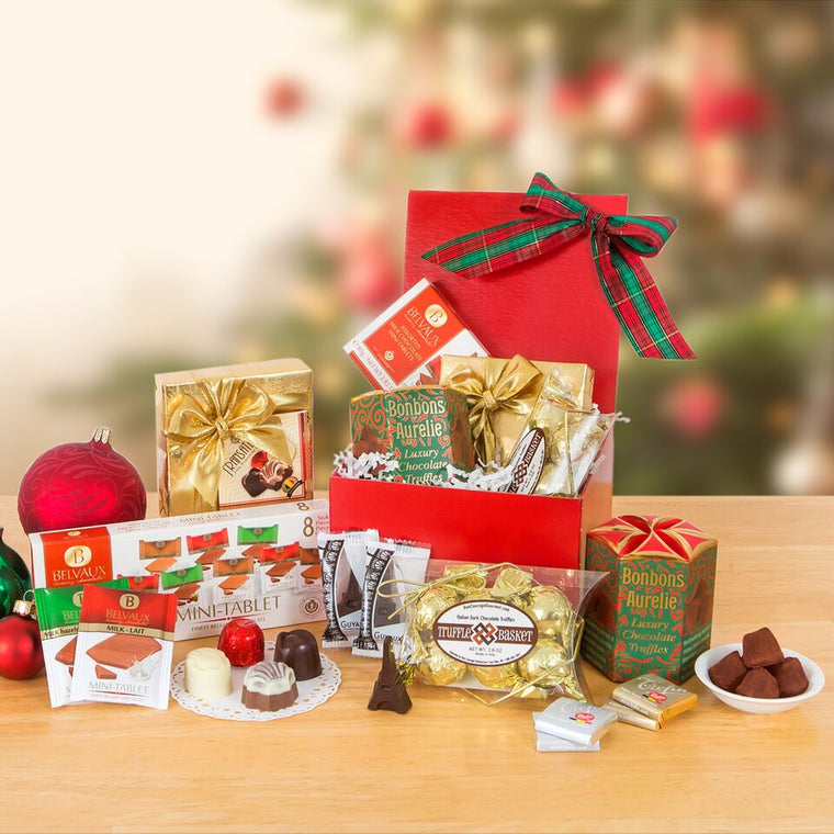 Holiday Spirit Chocolate Sampler - Free Gift with Purchase!