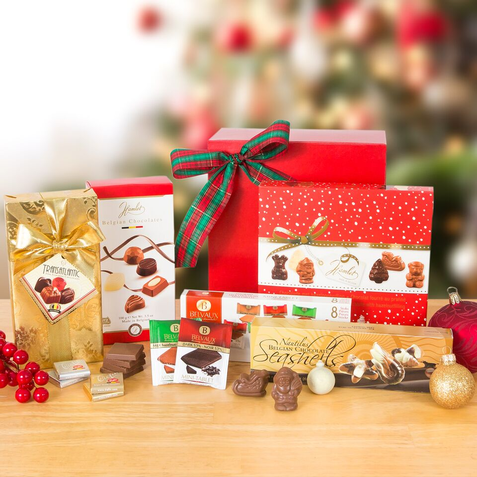 Belgian Chocolate Holiday Collection