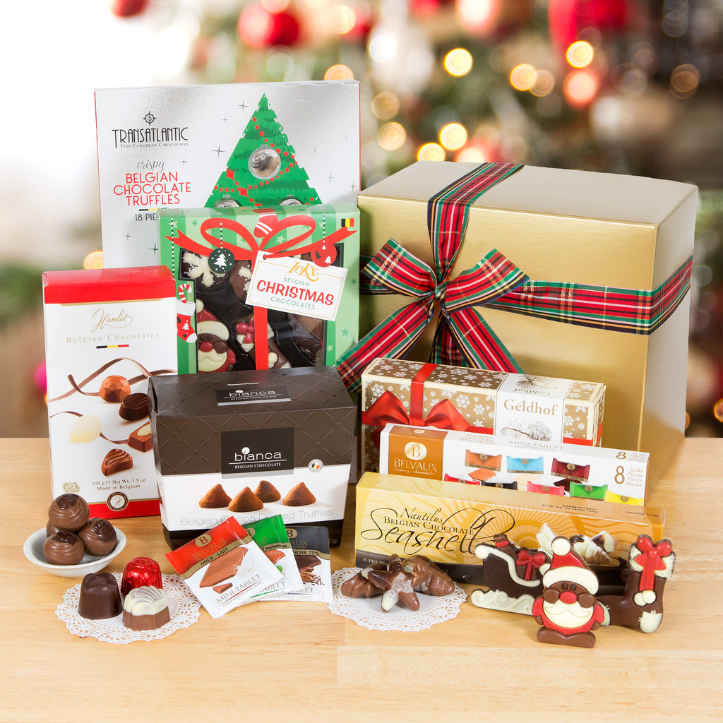 Belgian Chocolate Christmas Collection