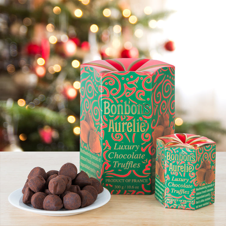 Bonbons Aurelie French Chocolate Truffles - Holiday Box