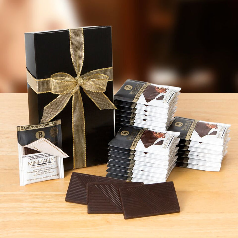 Belvaux Luxury 75% Extra Dark Chocolates