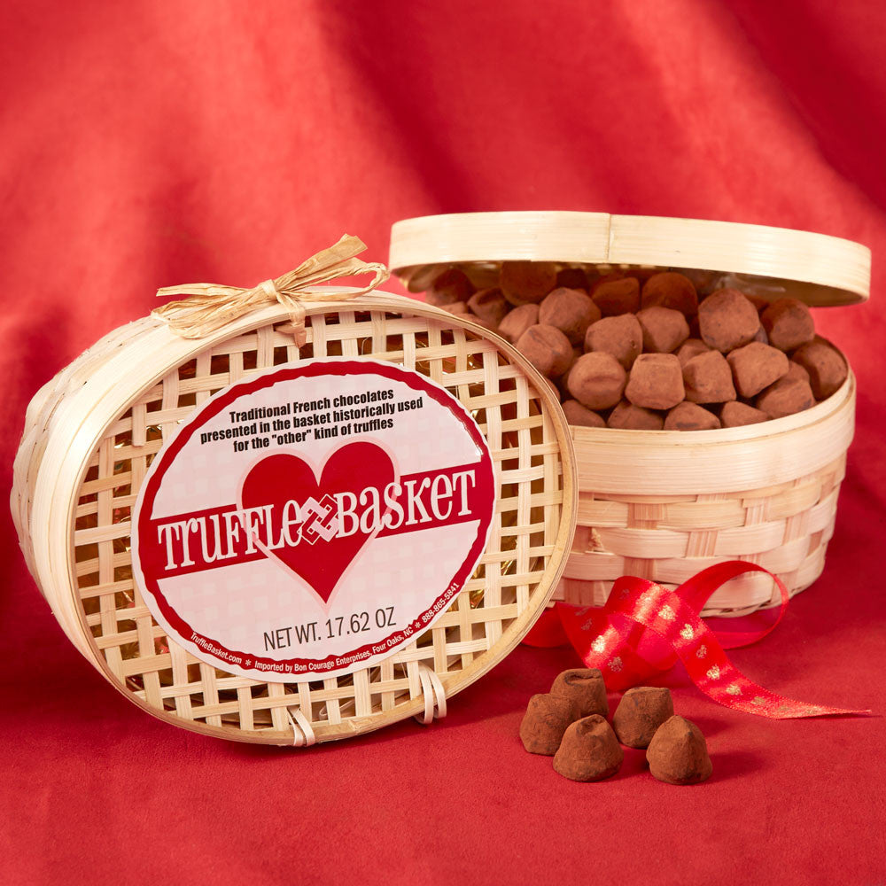 Valentine's French Truffle Basket