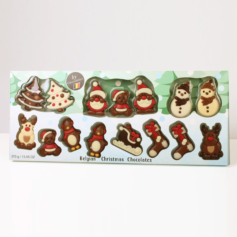 Extra Large Belgian Christmas Chocolate Assortment