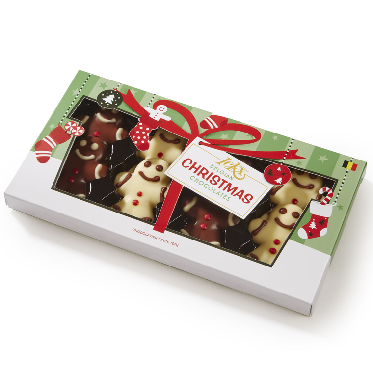 Belgian Chocolate Gingerbread Gift Set