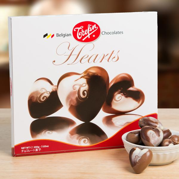 40%-off Hazelnut Mocha Chocolate Hearts