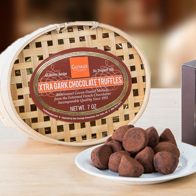 Guyaux Xtra Dark French Truffles