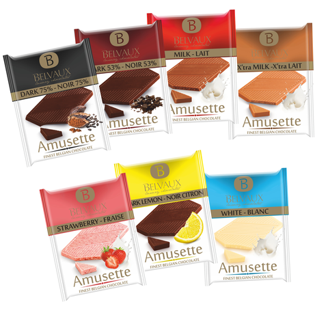 LUXURY BELGIAN AMUSETTE 200-pc Bulk