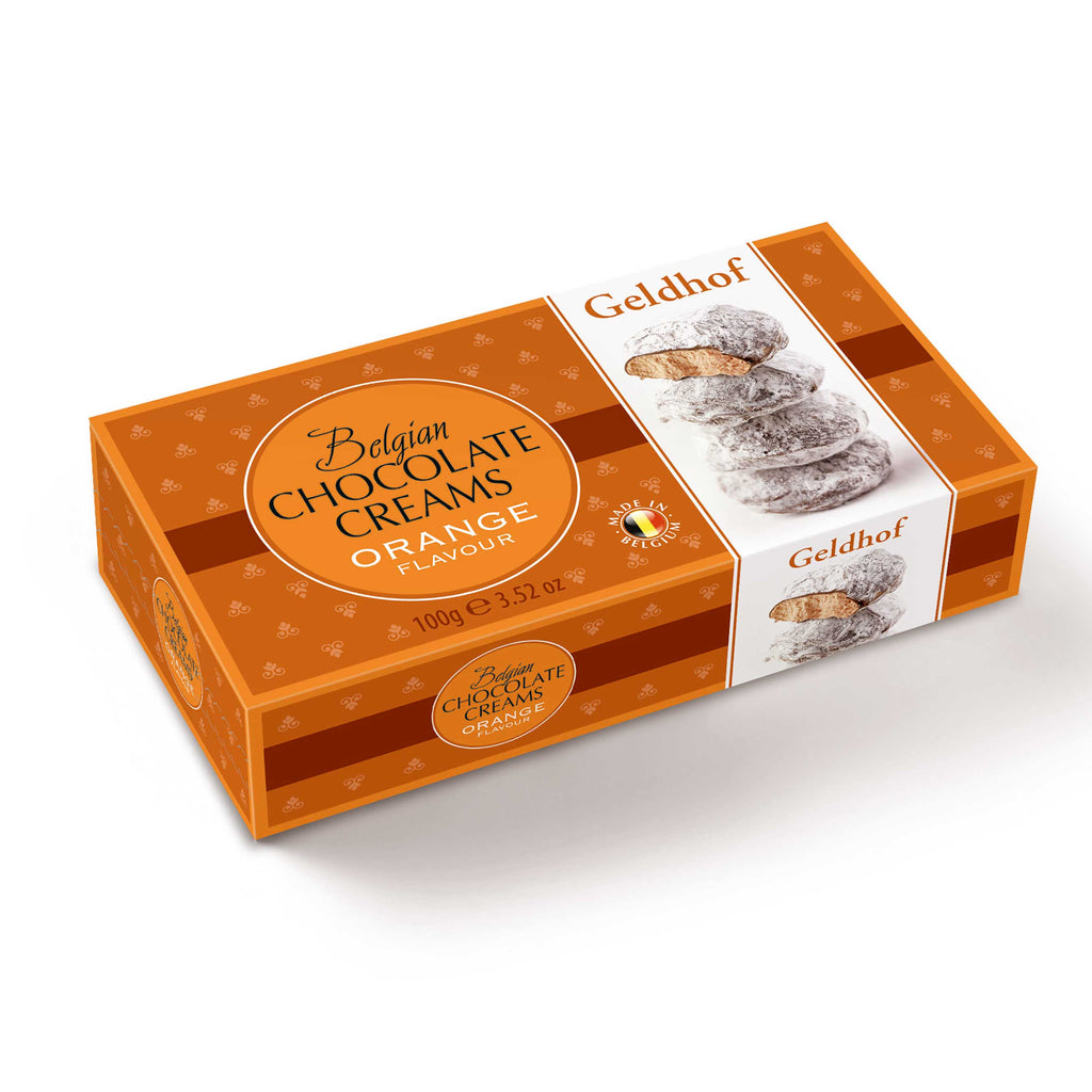 Belgian Chocolate Creams - Orange Half Price