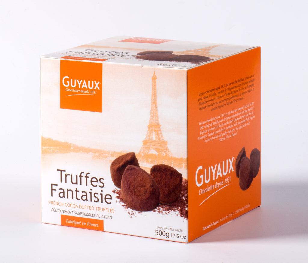 Guyaux French Chocolate Truffle Boxes