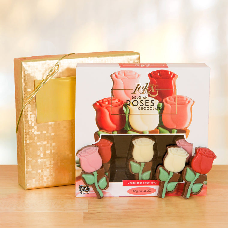 60%-off Belgian Chocolate Roses