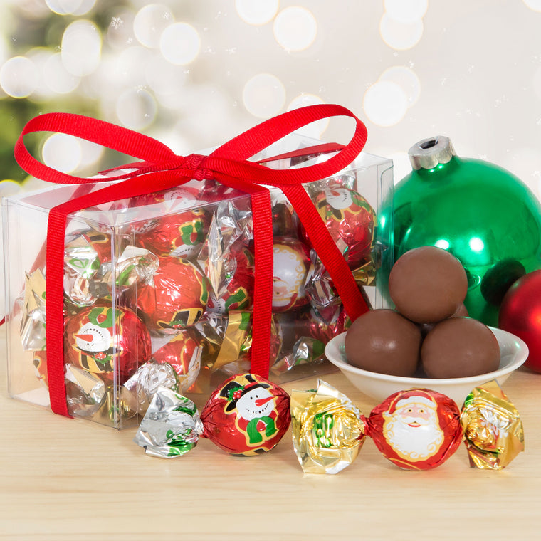 Italian Chocolate Truffles - Holiday