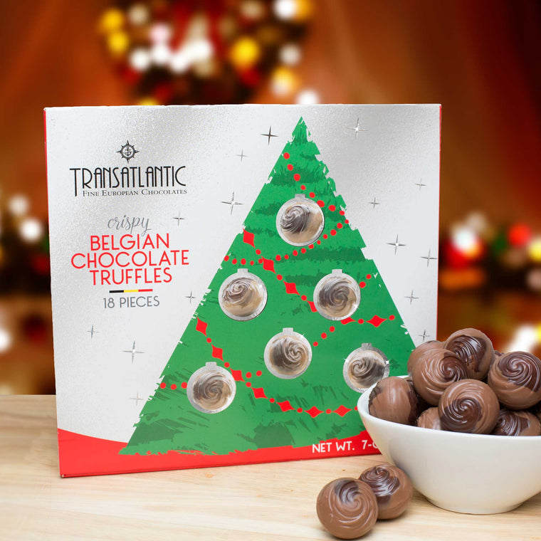 Volume Purchase Discounts!  Transatlantic Crispy Belgian Truffles