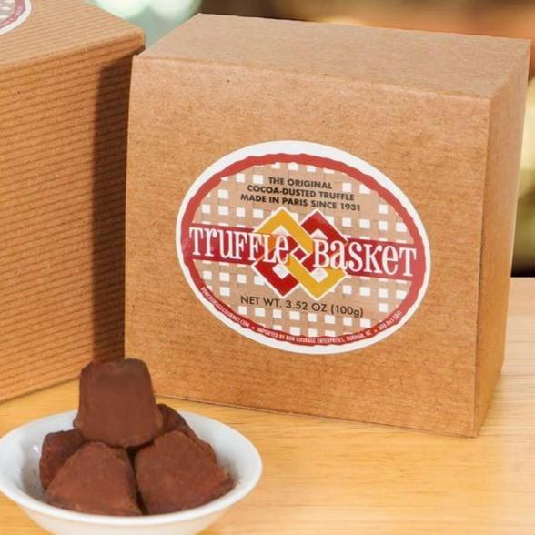 Truffle Basket French Chocolate Truffles - 50% off