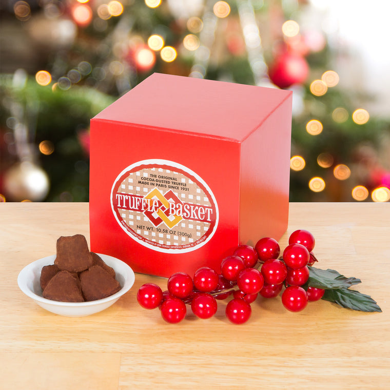 Holiday Box of French Chocolate Truffles