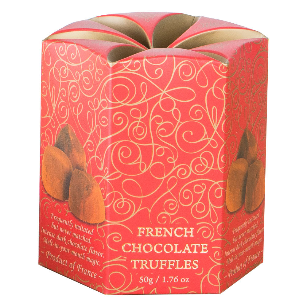 Save up to 60%! French Truffles in 8-pc Box - best by 2/1/2021